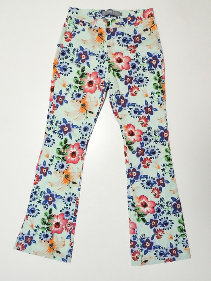 Pantalon Basement Mujer Floreado