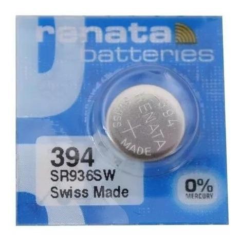 Bateria 394 De Óxido Prata Sr936sw Renata - 1 Unidade