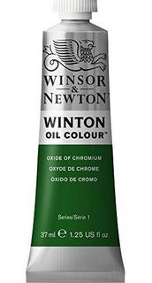 Pintura Al Oleo Winton 37ml / Tubo-oxido De Cromo 1414459