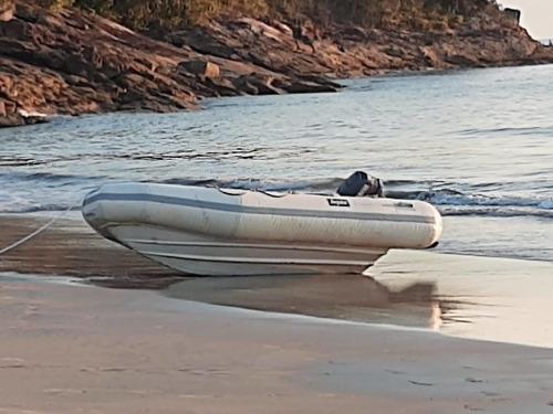 Barco Bote Inflavél Fundo Rígido Dolphin Rib-305 Com Doc.