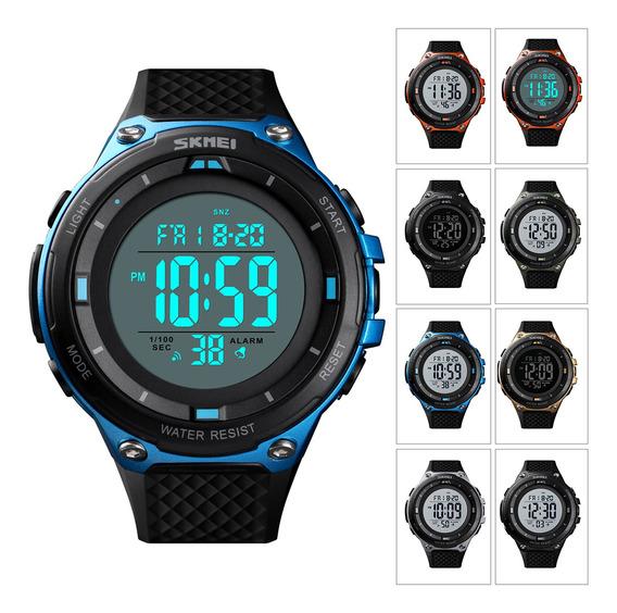 Relógio Digital 50m Impermeável Esportes Ao Ar Livre Reló