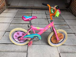 Bicicleta De Barbie Para Niña