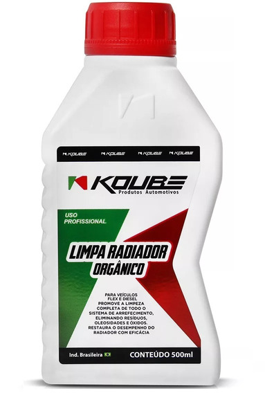 Limpa Radiador Orgânico 500ml Koube