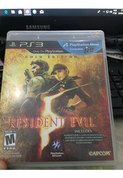 Resident Evil 5 Gold Edition Playstation 3 Midia Fisica