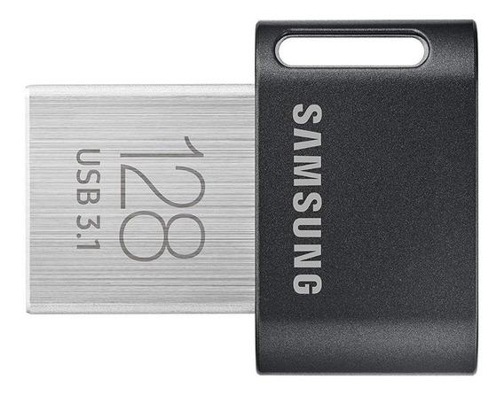 Pen Drive Samsung 128gb Fit Plus Usb 3.1 Promoção 300 Mb/s