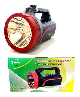 Lanterna Farolete Eco Power Ep2626 Recarregável Hi-power Led