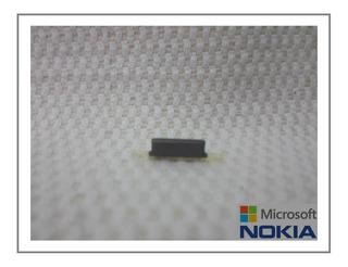 Nokia Lumia 925 - Botão Power Externo Lateral Cinza Escuro Grafite