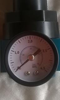 Regulador De Pressão Para Compressor 1/2 Pol 40 Bar