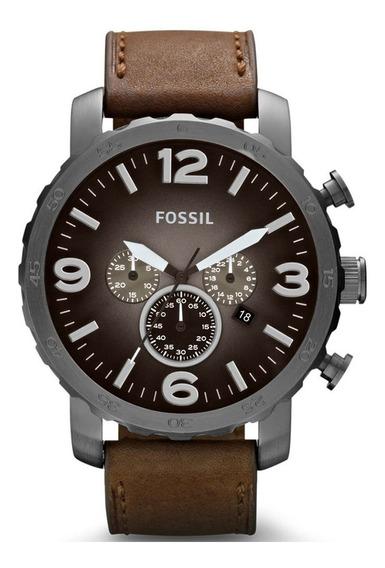 Relógio Masculino Fossil Nate Jr1424 (rev Autorizada) C Nf-e