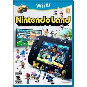 Jogo Nintendo Land Wii U - Lacrado Mídia Física