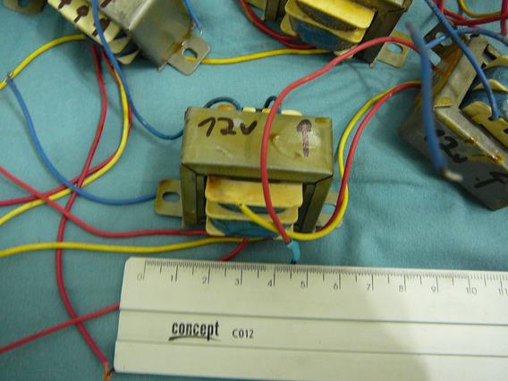 7 Transformadores 110-220 Para 12 Volts (11,6 Volts) - Trafo