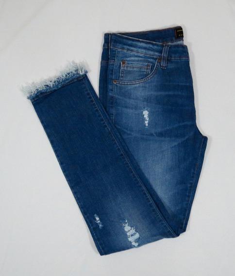 Calça Jeans Masculina Premium Destroyed
