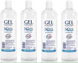 Nuvel Desinfectante Antibacterial Gel Pack 10 =9lt