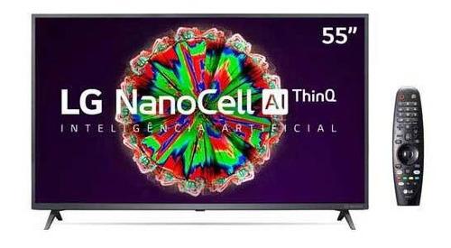Smart Tv Nanocell 4k LG Led 55  Thinqai, Google Assistente