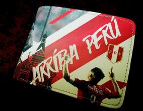 Billeteras De Cuero Para Caballero - Perú Mundial - Regalos