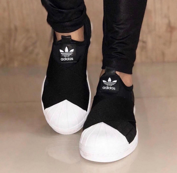 Tênis Superstar Slip-on Preto