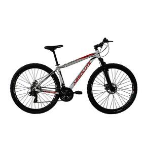 Bicicleta Aro 29er 21 Vel Branco/vermelho Absolute Nero