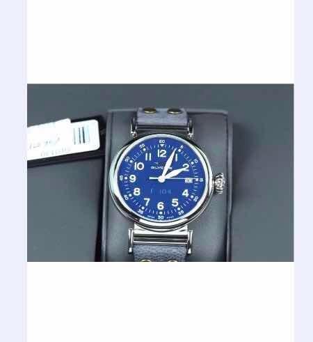 Relógio Glycine F-104 40mmazul Clássico Novo Pronta Entrega