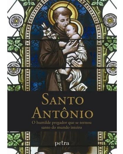 Livro Santo Antonio. Petra. Lindas Imagens Coloridas. Devoci
