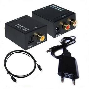 Conversor Digital Audio Toslink Para Tv Samsung Lg Optico