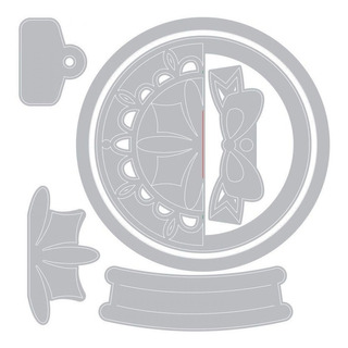 Scrapbook Troquel Suajes Corte Kit 6 Piezas Chico Sidekick