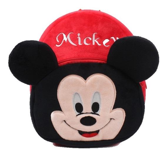 Mochila Mickey Mouse Personajes Disney Niños Pequeños Bebés