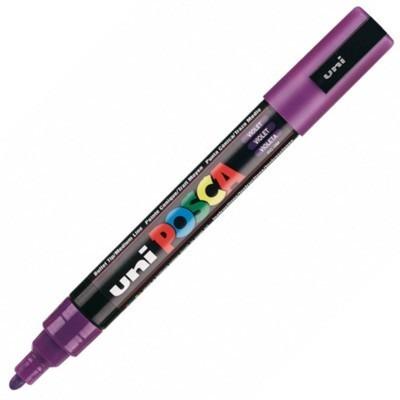 Caneta Posca Uni Ball Violeta Pc-5m