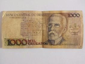 Cédula De 1000 Cruzados - Nota De Mil Antiga