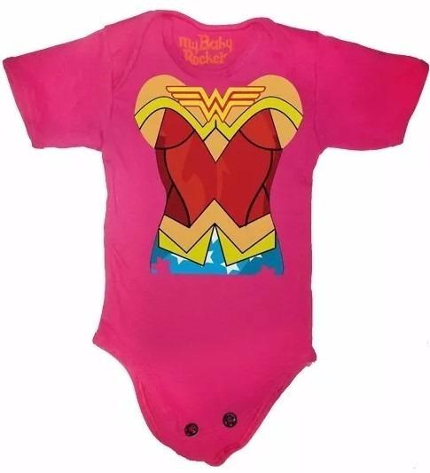 Disfraces Para Bebé Halloween - Pañalero De Wonder Woman