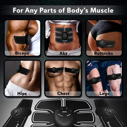 Electro Estimulacion Muscular Smart Fitness Series