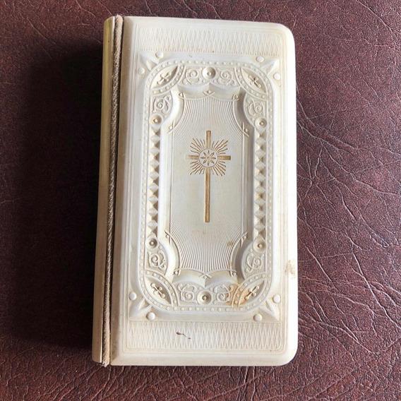 Antigo Raro Missal Livro De Reza Arte Sacra