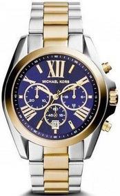 Relógio Michael Kors Mk5976 Misto Dourado E Prata
