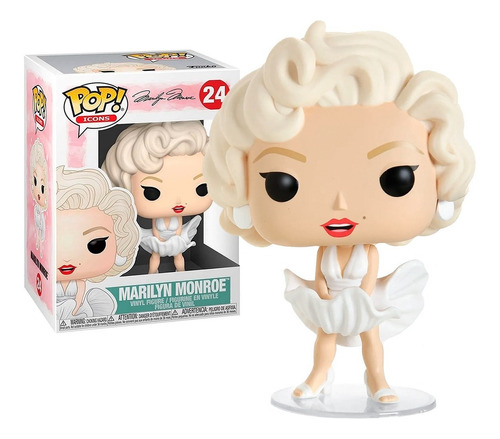 Boneco Funko Pop Icons Marilyn Monroe 24 - Original