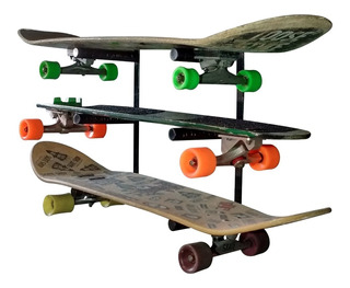 Suporte De Parede Para 3 Skates S3