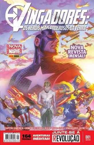 Vingadores: Os Heróis Mais Poderosos Da Terra N° 1 A 3