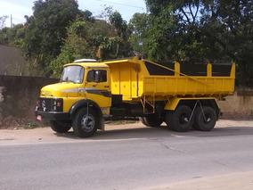 Mb 1517 1987 Caçamba Toda Reformada,caminhão Muito Inteiro