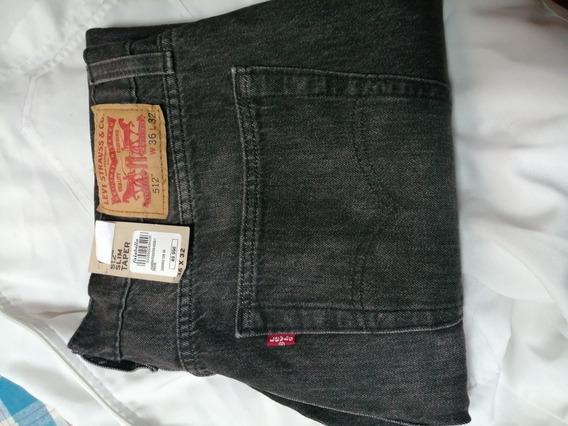 Pantalon Levis Negro 512 36x32