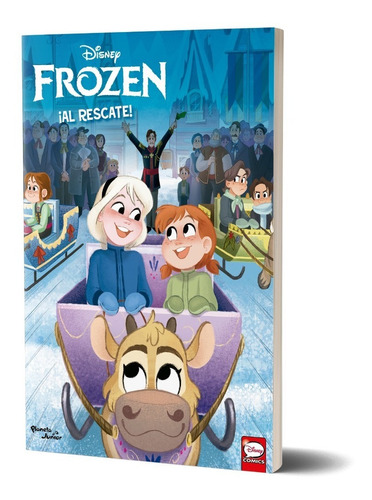 Imagen 1 de 5 de Frozen. ¡al Rescate! De Disney  P. Junior