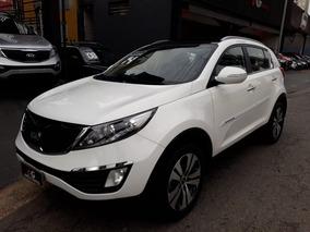 Kia Sportage Branca Ex 2.0 Flex 2014 Top Analiso Troca