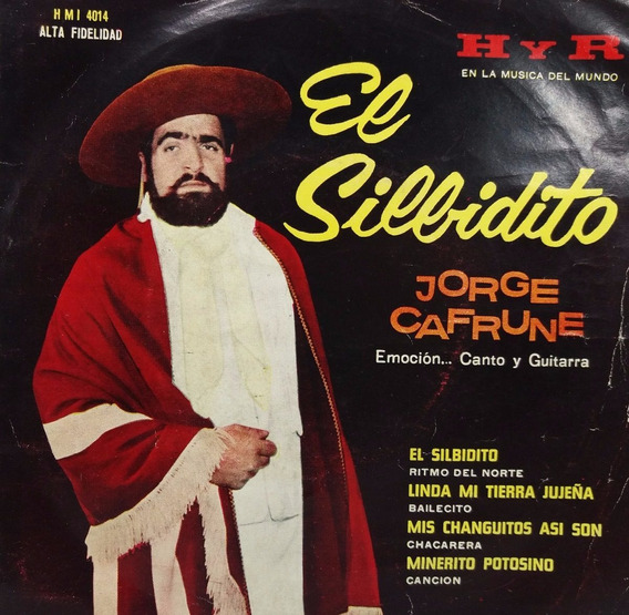 Jorge Cafrune El Silbidito Linda Disco - Simple Fol@