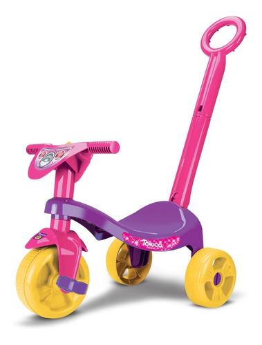 Triciclo Motoquinha Velotrol Pedal Infantil Menina