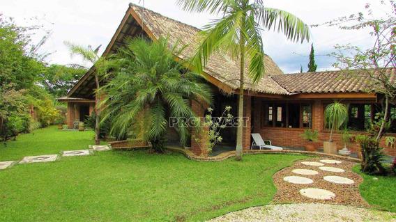 Maravilhosa Residencia No Condomínio Forest Hills, Granja Viana, Jandira - Ca15376. - Ca15376