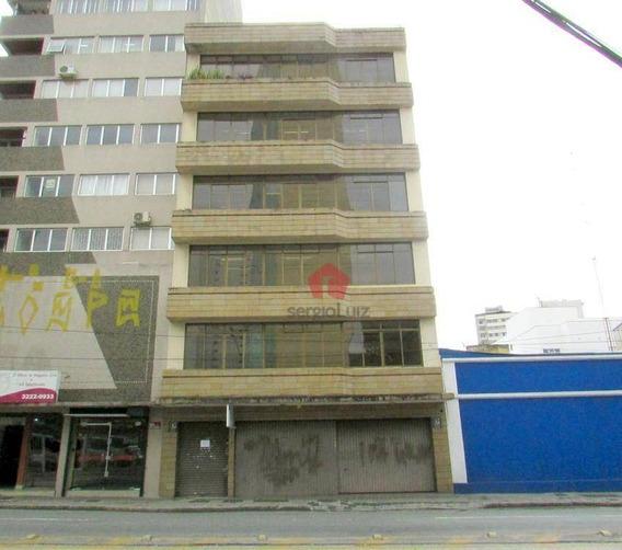 Prédio À Venda, 2000 M² - Centro - Curitiba/pr - Pr0012