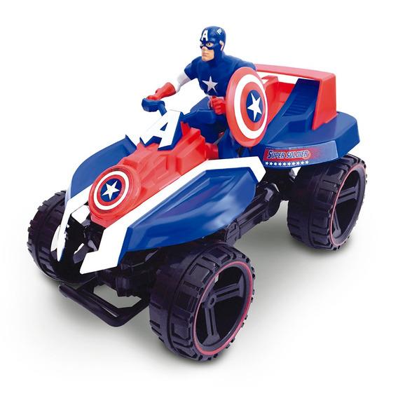 Quadriciclo De Fricção - Avengers - Capitão América - Marvel