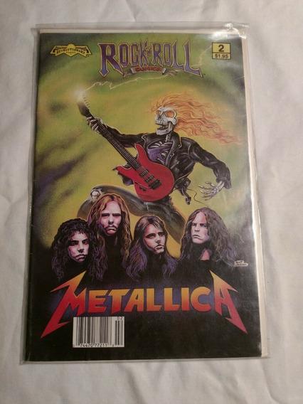 Metallica Banda Classic Rock Biografia Em Quadrinhos Anos 80