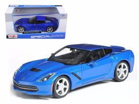 Corvette Stingray 2014 Azul 1:24 Maisto