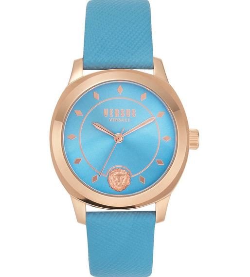 Reloj Para Dama Versus Durbanville Original Color Celeste
