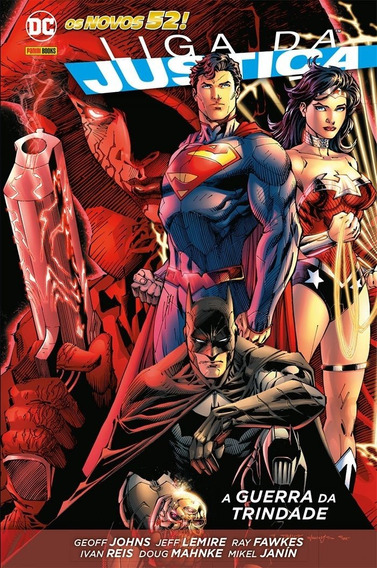 Hq - Liga Da Justiça. Guerra Da Trindade - Capa Dura