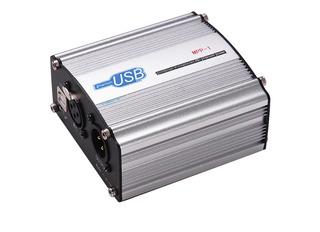 48v Phantom Power Supply Box Para Micrófono De Condensador