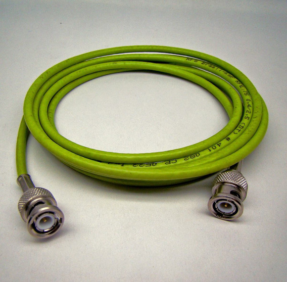 Cabo E1 Bnc X Bnc 2 M Patch Cord 75 Ohms 4mm Dt